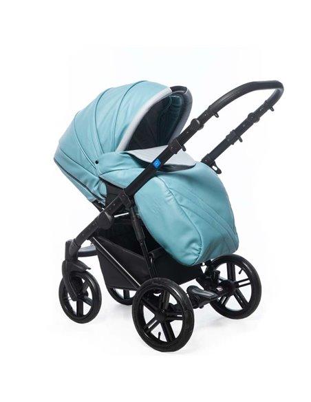 Дитяча коляска 3 в 1 Broco Avenue 04 Turkus