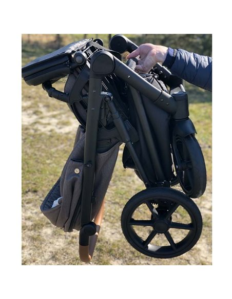 Дитяча коляска 2 в 1 Baby Drive Classic коричнева