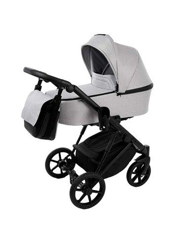 Дитяча коляска 2 в 1 Baby Drive Classic світло сіра
