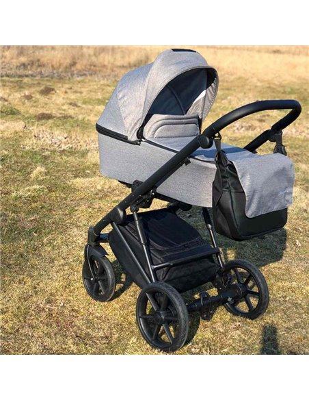 Дитяча коляска 2 в 1 Baby Drive Classic темно сіра