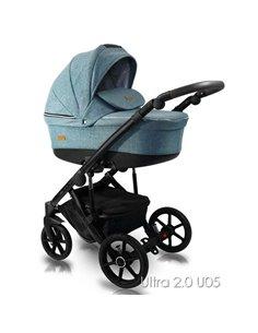 Детская коляска 2 в 1 Tako Laret Premium 01 черная