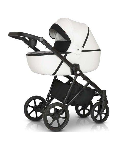 Детская коляска 3 в 1 Verdi Makan 01 White