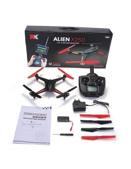 Квадрокоптер р/у XK X250 Alien