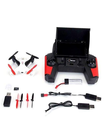 Квадрокоптер міні р/у WL Toys Q242G з FPV системою 5.8GHz