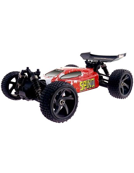Машинка баггі 1:18 Himoto Spino E18XB Brushed червоний