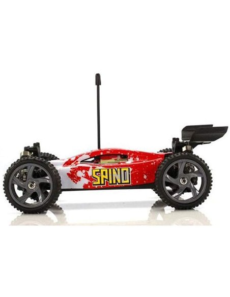 Машинка багги 1:18 Himoto Spino E18XB Brushed красный