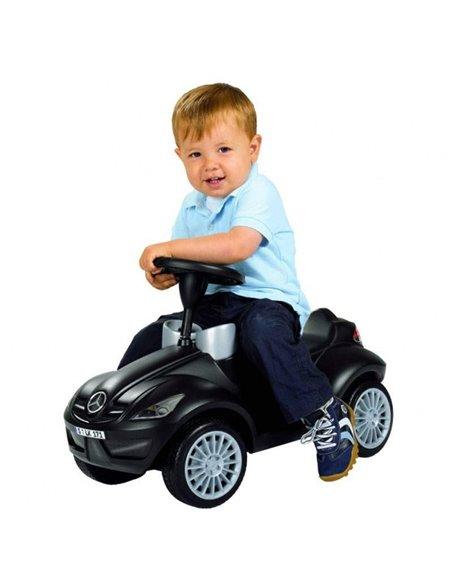 Машинка каталка Big Bobby Car Mercedes Benz SLK чорний