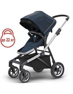 Дитяча коляска 2 в 1 Bebetto Pascal 04 темно-синя