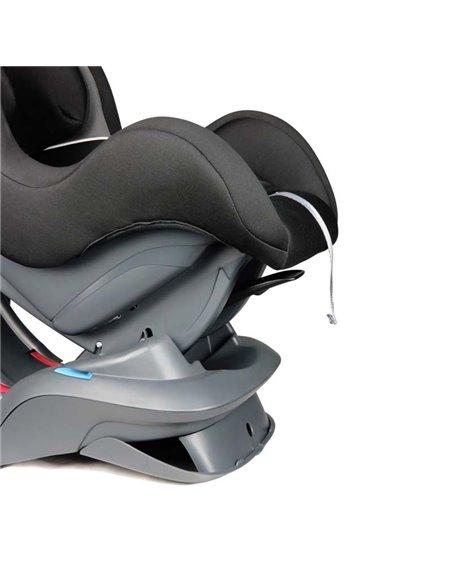 Детская коляска 3 в 1 BubaGo Voyage dark grey