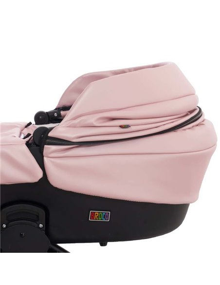 Дитяча коляска 2 в 1 Broco Thermo 02 Sweet Pink