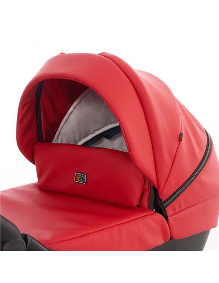 Дитяча коляска 2 в 1 Broco Thermo 10 Fire Red