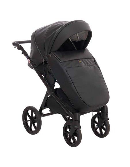 Дитяча коляска 2 в 1 Broco Thermo 30 Deep Black