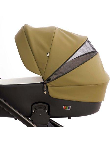 Дитяча коляска 2 в 1 Broco Thermo 35 Olive Green