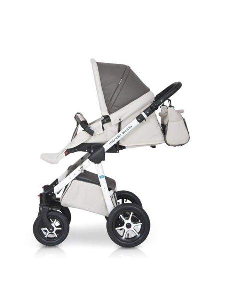 Детская коляска 2 в 1 Lonex Classic Retro R-13-Kratka