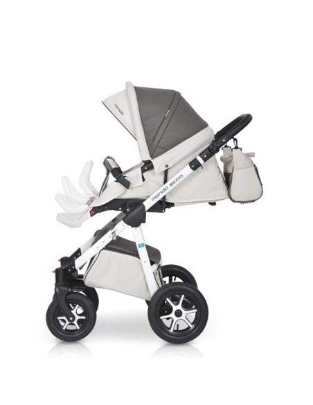 Детская коляска 2 в 1 Lonex Classic Retro R-13-Groch