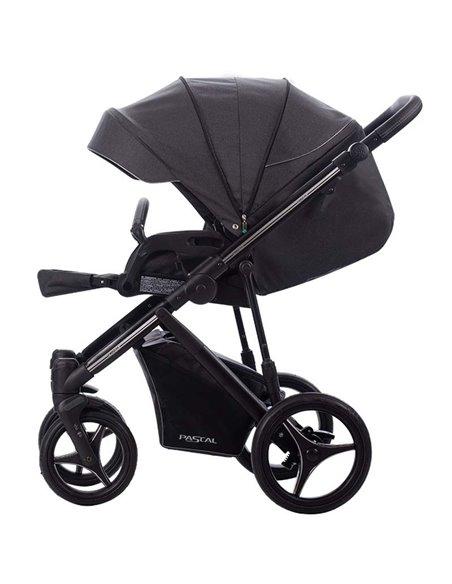Детская коляска 2 в 1 Bebetto Pascal 02 бежевая