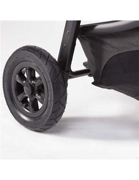 Дитяча коляска 3 в 1 BubaGo Voyage dark grey
