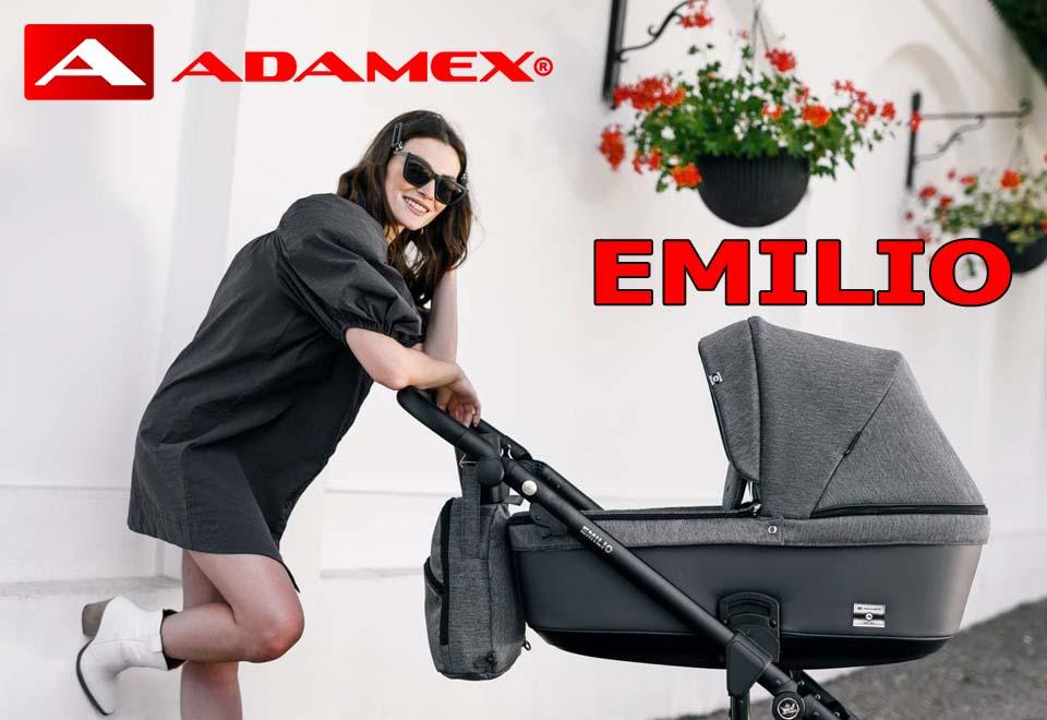 Детская коляска Adamex Emilio